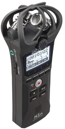 Zoom H1n sound quality
