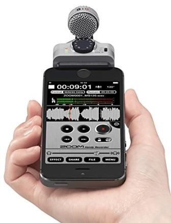 ZOOM iQ7  Microphone