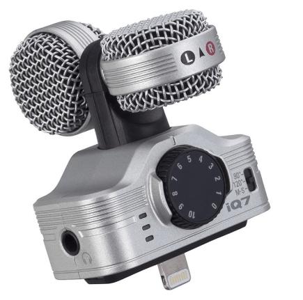 ZOOM iQ7 MS Stereo Microphone