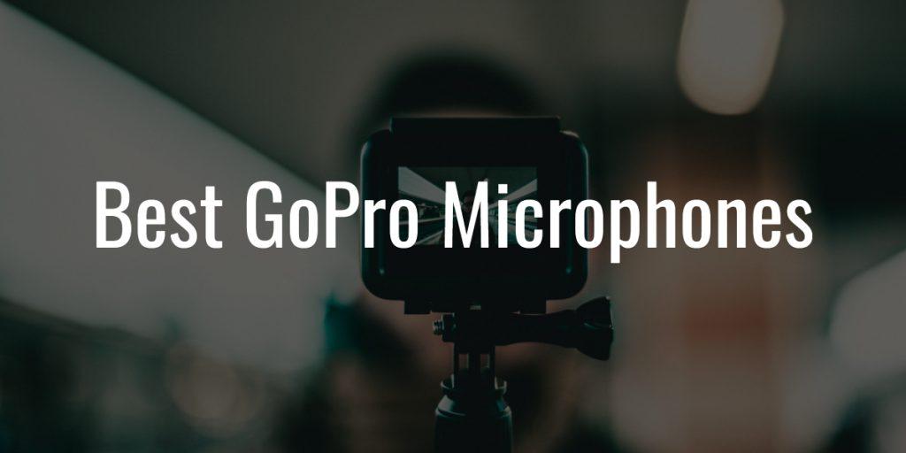 Gopro microphones