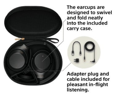 Sony WH1000XM3 earcups