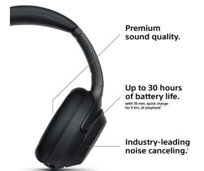 Sony WH1000XM3 earpad and headband