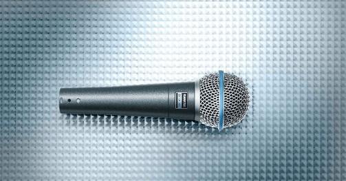 Beta 58A mic