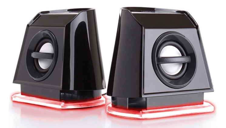 GOgroove 2MX LED Computer Speakers