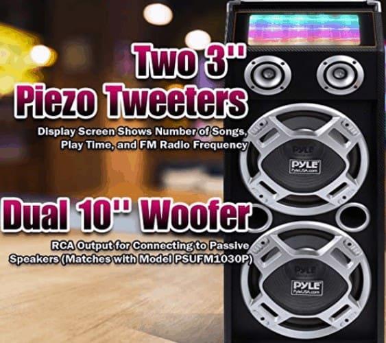 Woofers and tweeters