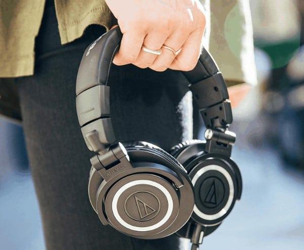 Audio technica M50x headphones