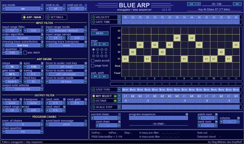 BlueARP VST by GrayWolf2004
