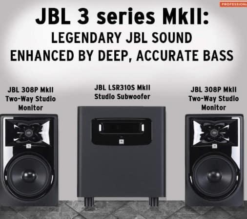 JBL 3 series studio monitor