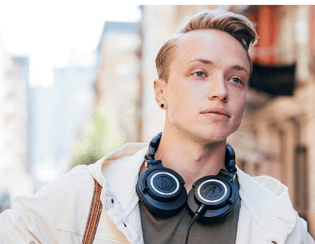M50X headphones