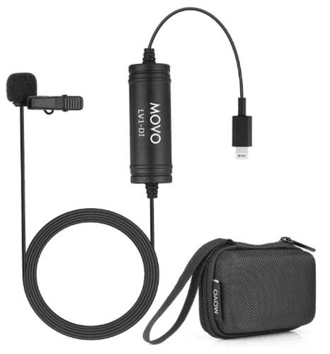 Movo LV1-DI Digital Lav Clip-on Mic