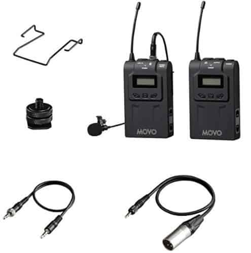 Movo WMIC70 Wireless Lav Mic