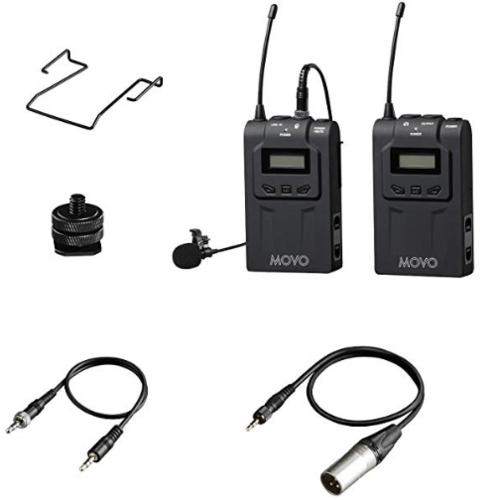 Movo WMIC70 Wireless Lav Mic