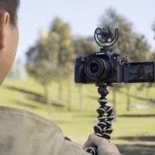 Rode VideoMicro external mic