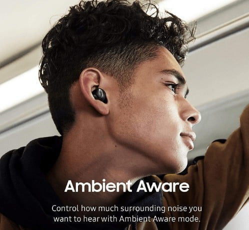 Ambient awareness provided by Galaxy buds