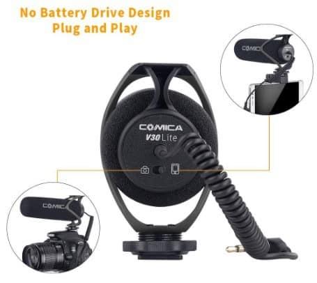 CVM-V30 LITE battery essentials