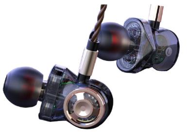 Granvela HD01 Triple-Driver Bass Earbuds