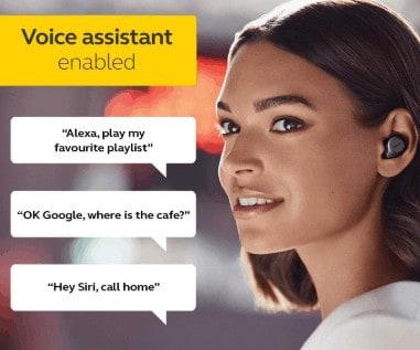 Jabra Elite 75t voice assistant feature
