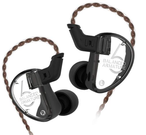 KZ IEM Earphone 3BA Earbuds