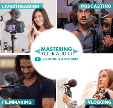 Master your audio with Movo mic