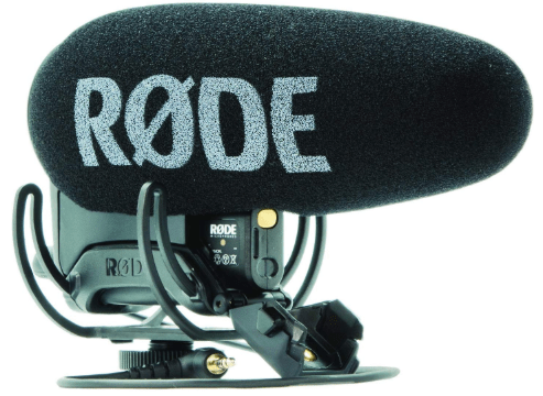 Rode VideoMic Pro+ with shoe mount