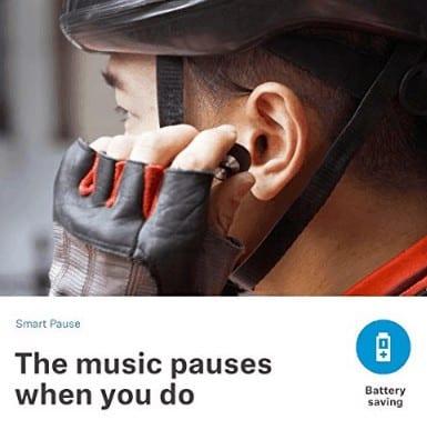 Smart pause feature of Sennheiser Momentum