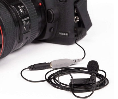 Wired lav mic