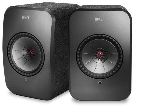 KEF LSX Wireless Bookshelf Speaker