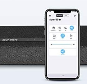 Pairing the soundbar with mobile