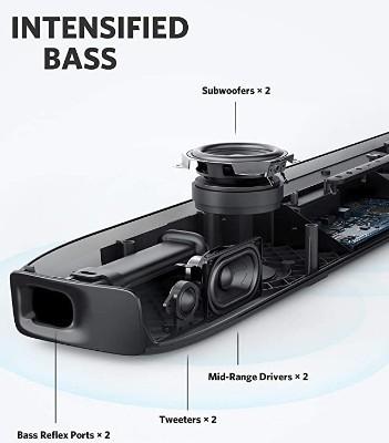 Soundcore Infini Pro 2.1 Soundbar sound quality