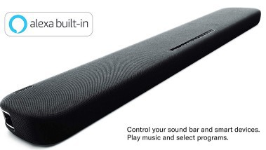 Yamaha YAS-109 Sound Bar Alexa
