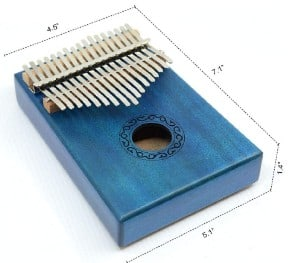 Apelila 17 Key Kalimba build and design