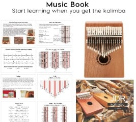 JDR 17 Keys kalimba sound quality and performance