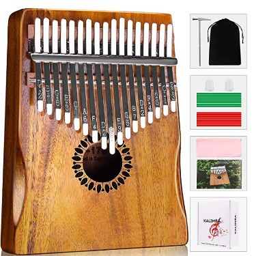 Newlam Kalimba Thumb Piano 17 keys