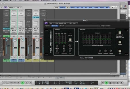 TAL Vocoder plugin overview