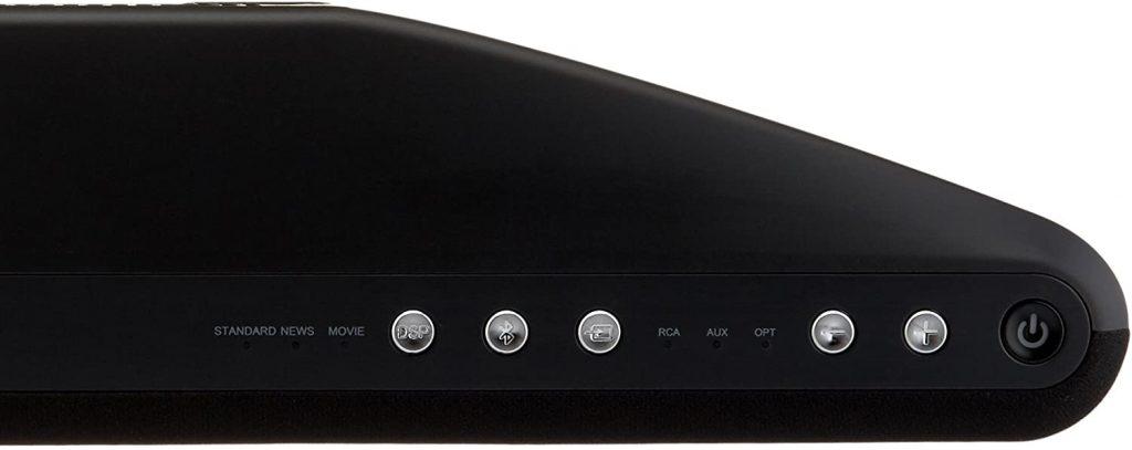 Amazonbasics 2.1 channel bluetooth soundbar setup