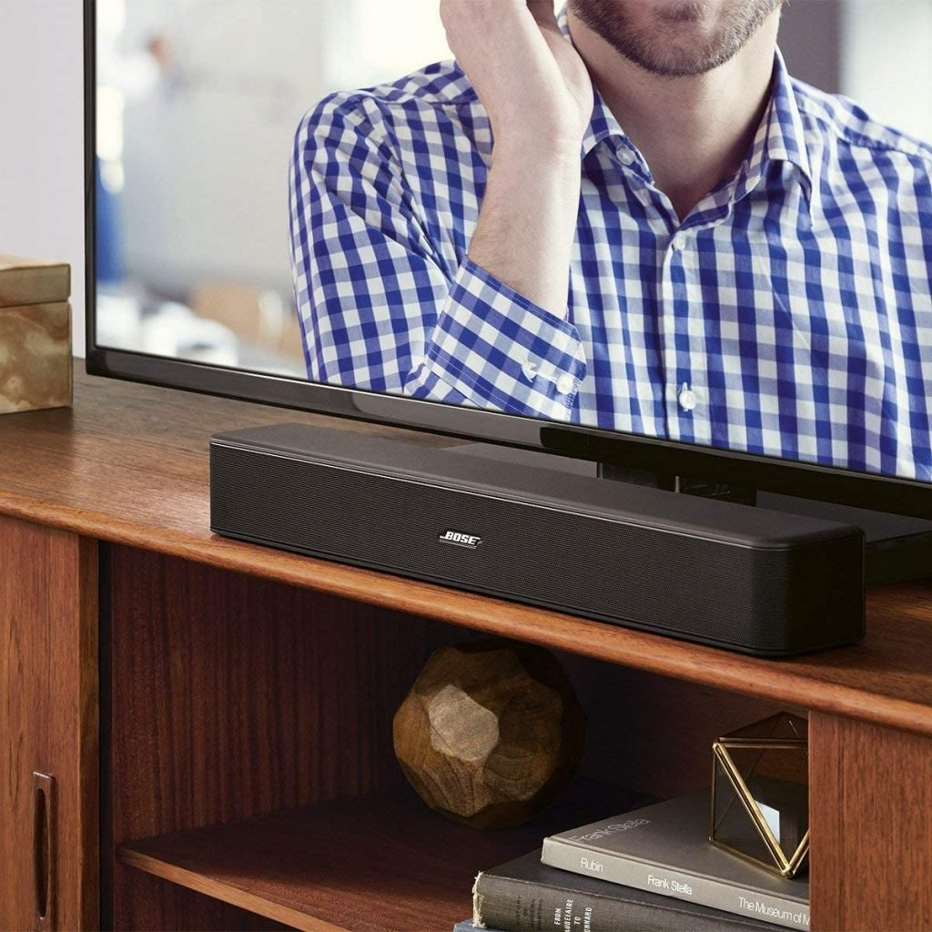 Bose solo 5 tv soundbar sound system design