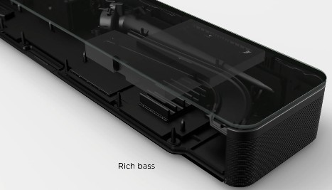 Bass rich speakers